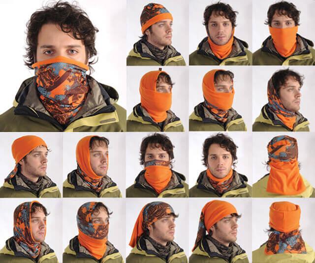 Можно ли завязывать шарф на рот